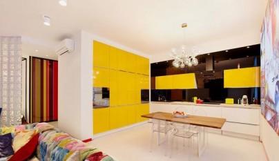Cocina amarilla21