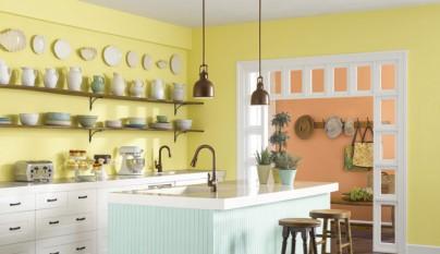 Cocina amarilla26