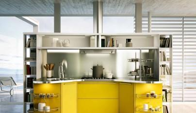 Cocina amarilla28