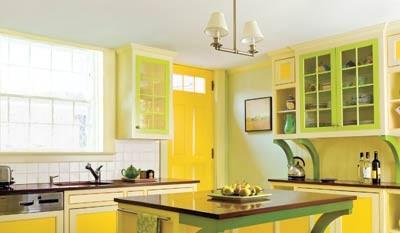 Cocina amarilla30