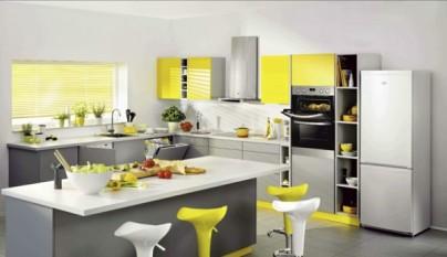 Cocina amarilla33