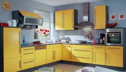 Cocina amarilla35