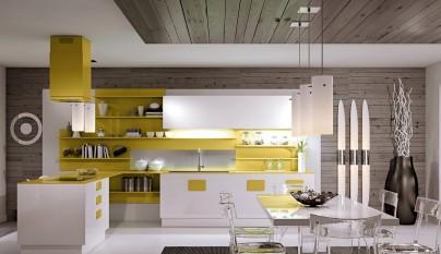 Cocina amarilla36