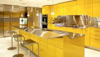 Cocina amarilla5