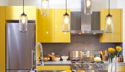 Cocina amarilla8