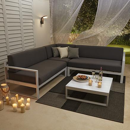 Conjuntos de muebles con mesa baja7 for Terrazas leroy merlin