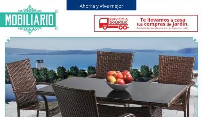 Alcampo cat logo terraza y jard n 2016 for Piscinas desmontables alcampo 2016