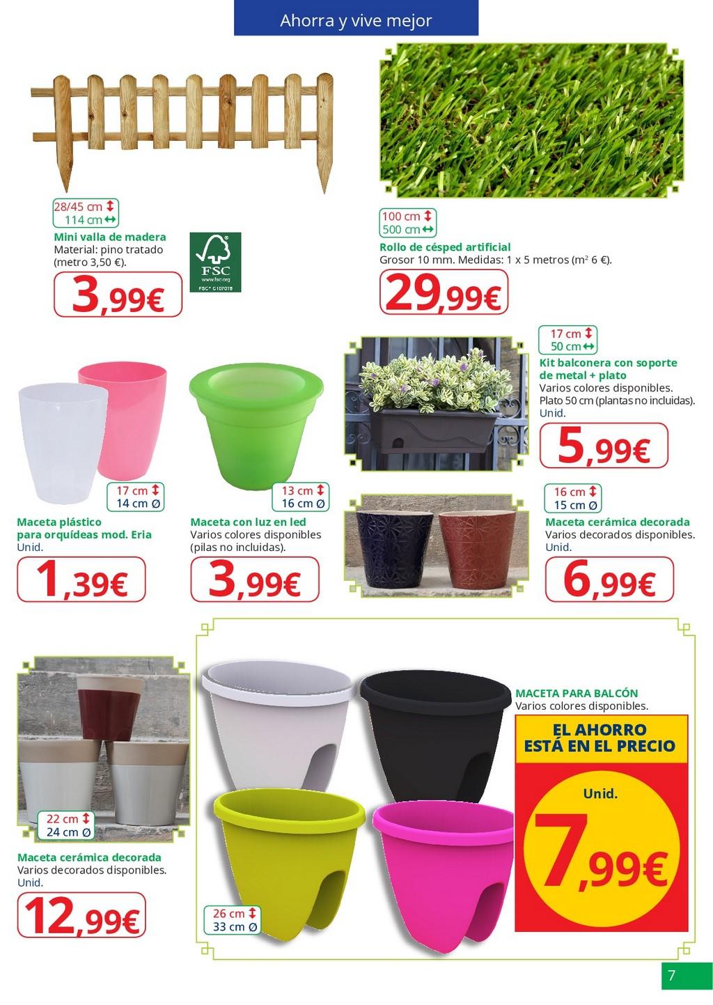 Especial jardin7 for Jardin alcampo 2016