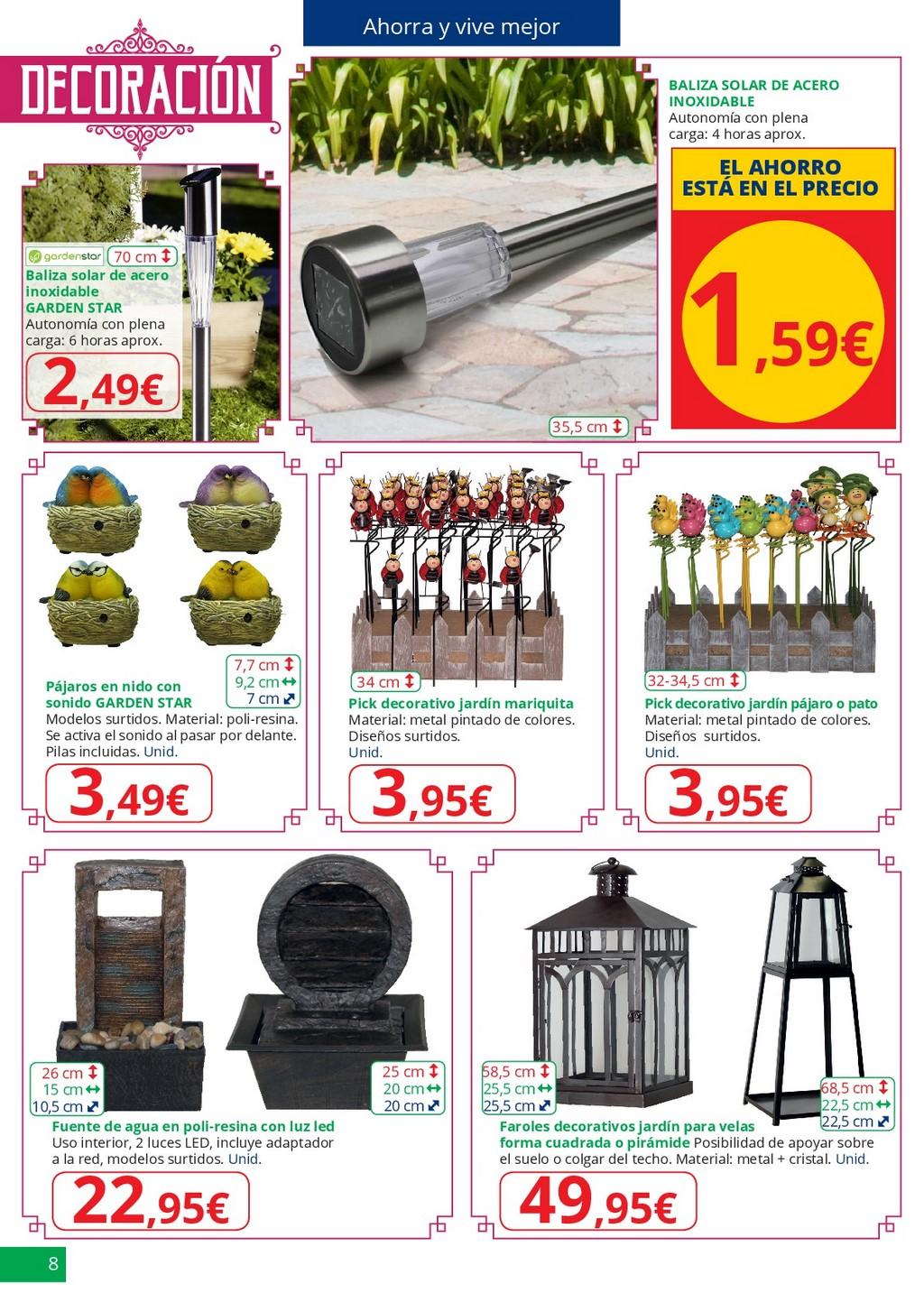 Especial jardin8 for Jardin alcampo 2016