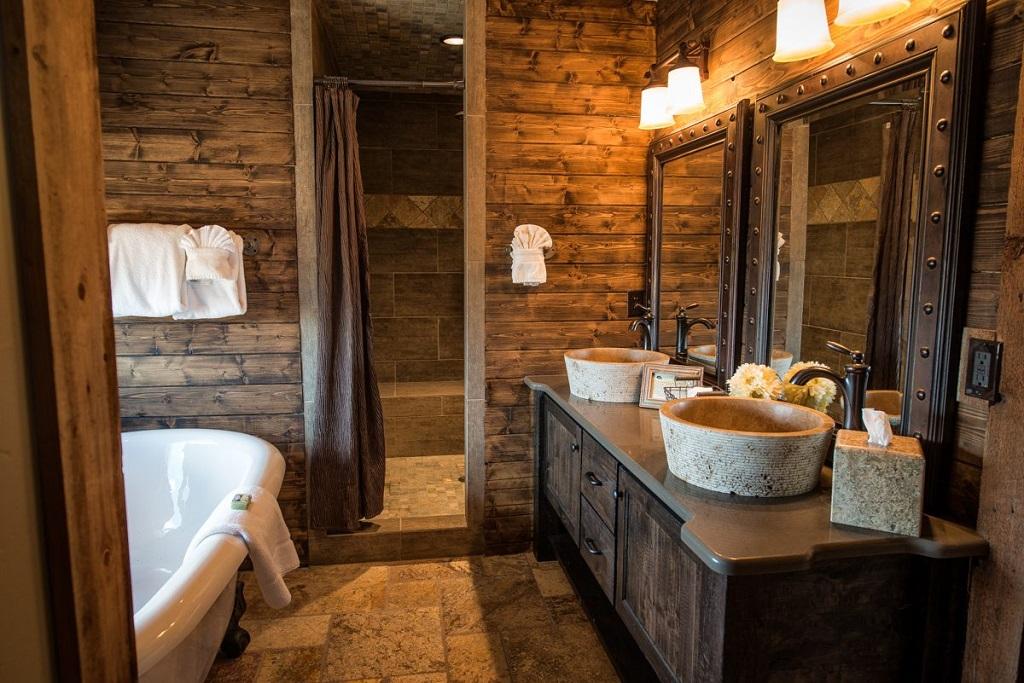 Baños Rusticos Ideas:Ideas para decorar baños rústicos pequeños (1/10)