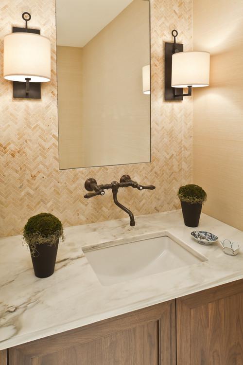 Baños Rusticos Ideas:Ideas para decorar baños rústicos pequeños (10/10)