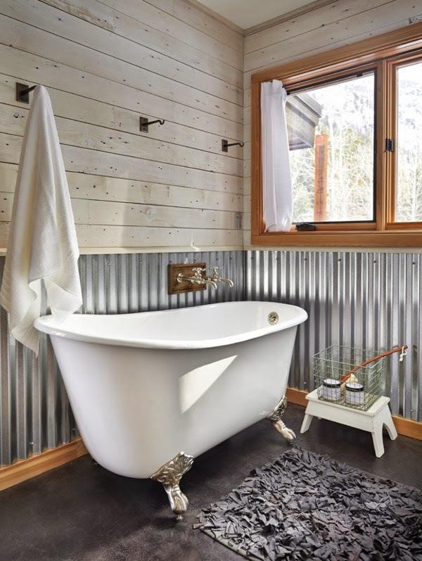 Baños Rusticos Ideas:Ideas para decorar baños rústicos pequeños (6/10)