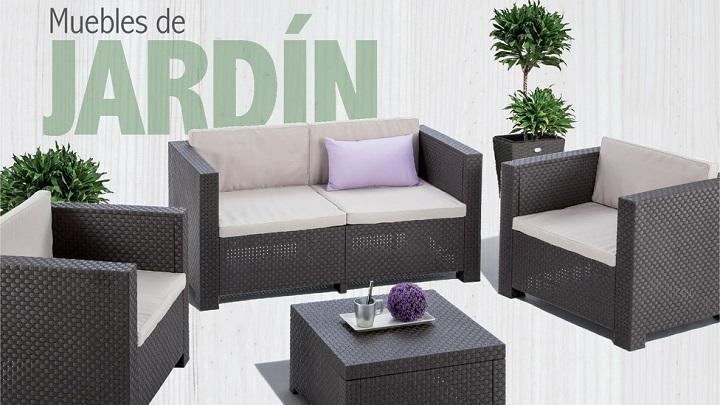 Muebles de jardin Carrefour catalogo