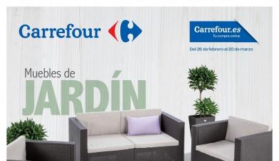 Muebles de jardin Carrefour1