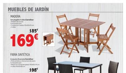 Muebles de jardin Carrefour2
