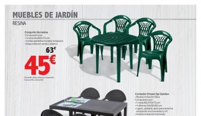 Muebles de jardin Carrefour4