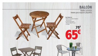 Muebles de jardin Carrefour5