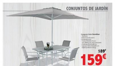 Muebles de jardin Carrefour7