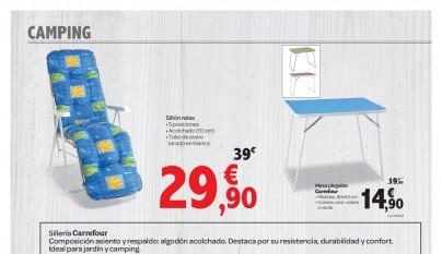 Muebles de jardin Carrefour8
