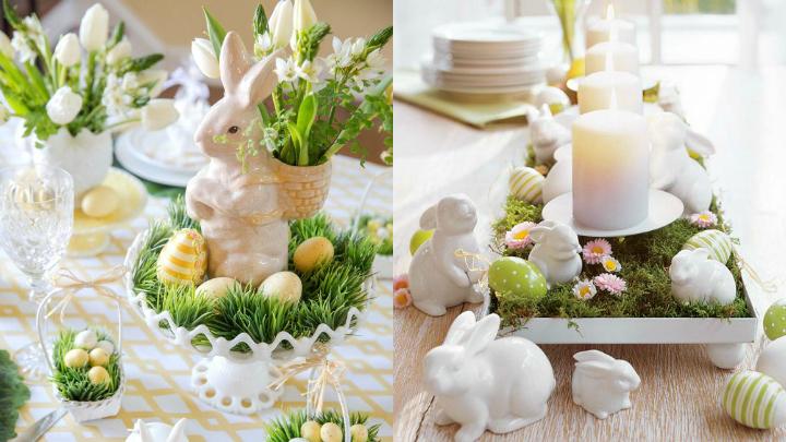 Pascua conejos