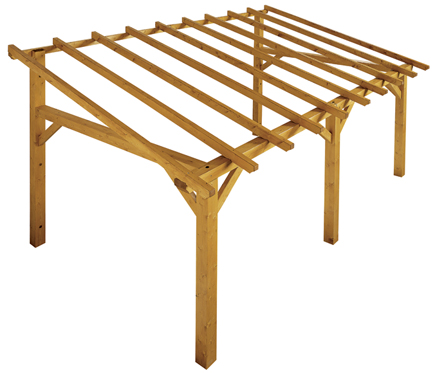 brilliant pergolas de madera leroy merlin pictures