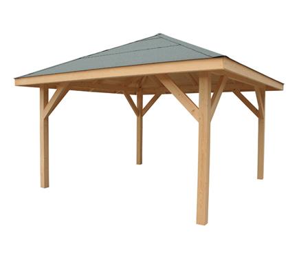 Pergolas de madera9 - Leroy merlin pergolas metalicas ...