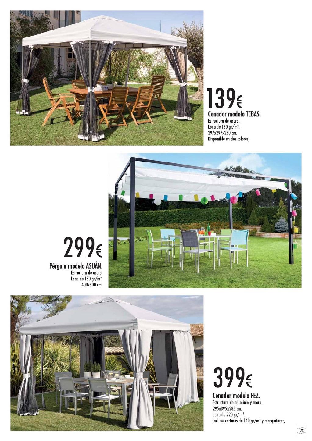 Terraza y jardin hipercor 201623 for Hipercor sombrillas jardin
