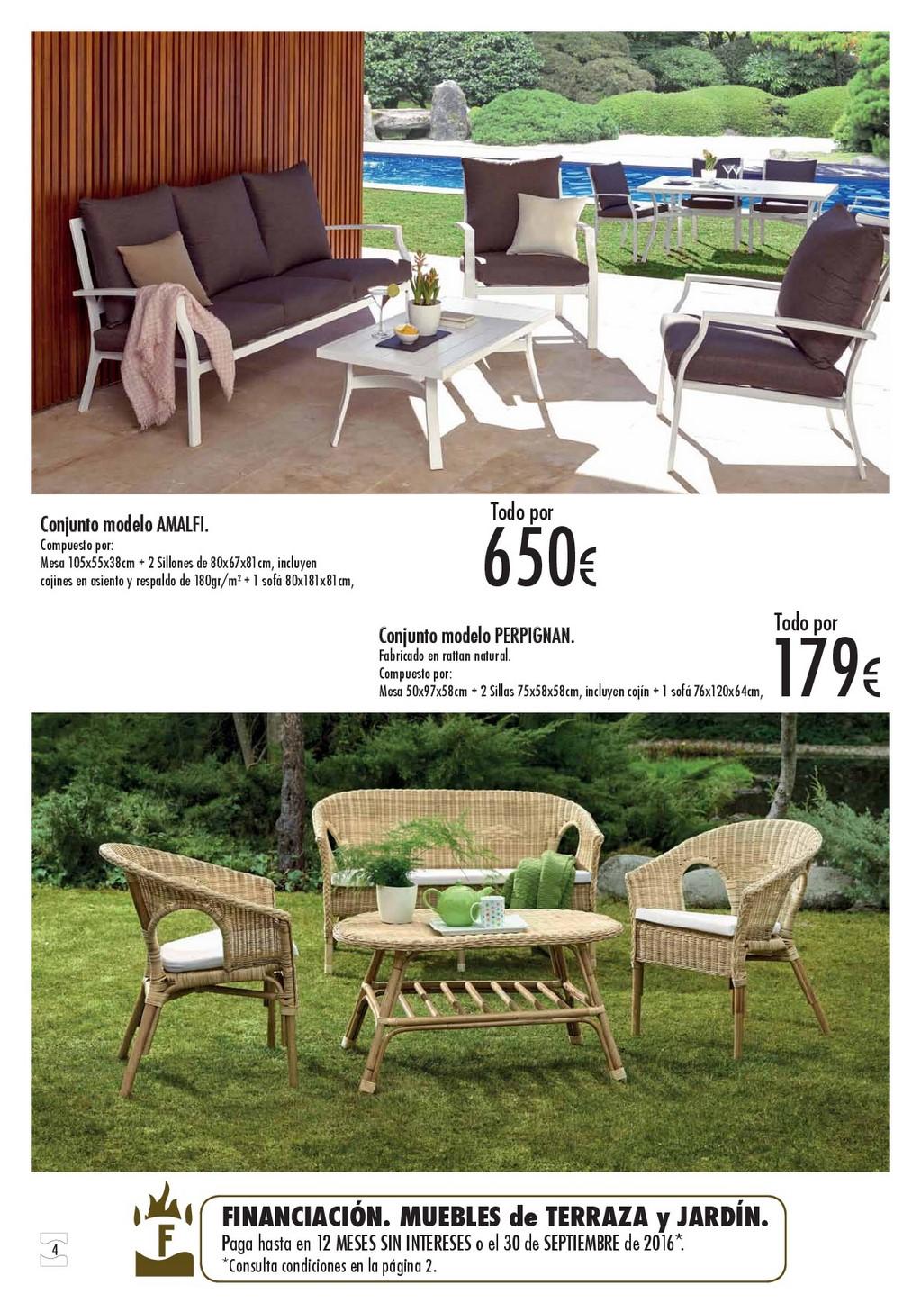 Terraza y jardin hipercor 20164 for Hipercor sombrillas jardin