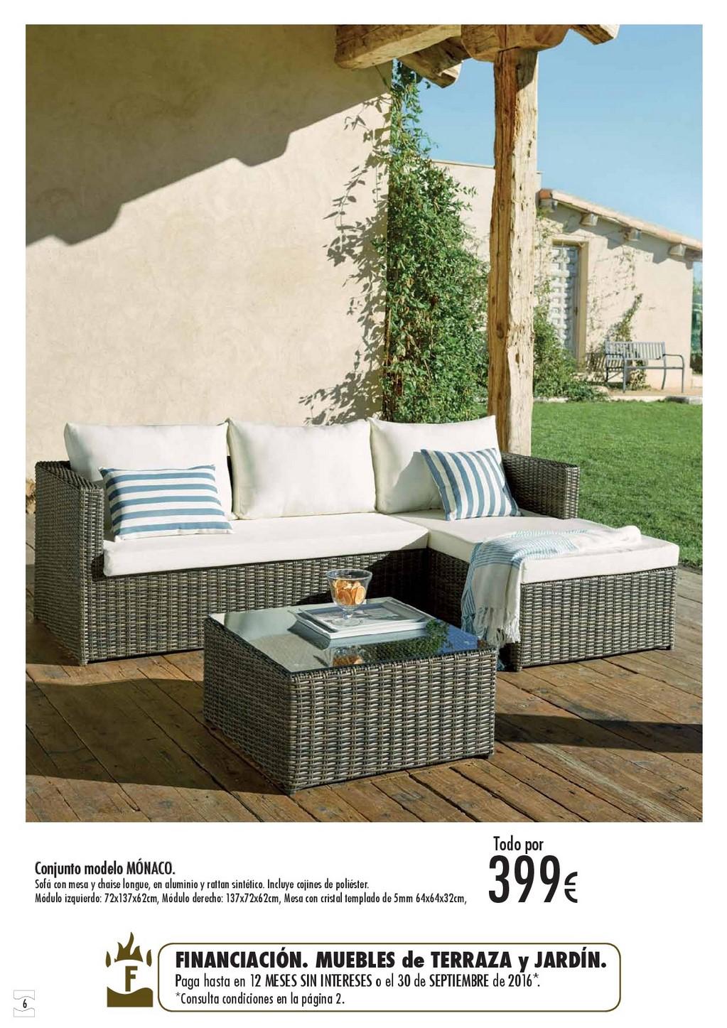 Terraza y jardin hipercor 20166 for Oferta terraza y jardin