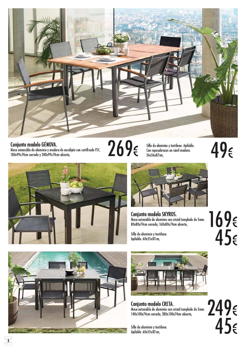 Terraza y jardin hipercor 20168 for Hipercor sombrillas jardin
