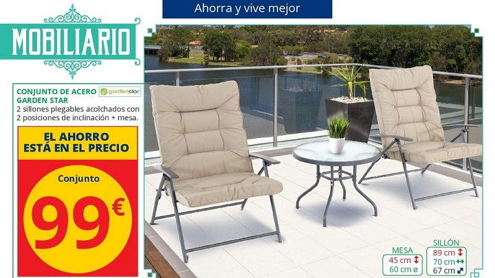 Decorablog revista de decoraci n for Sillas plegables terraza