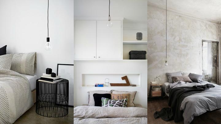 bombillas colgantes dormitorios