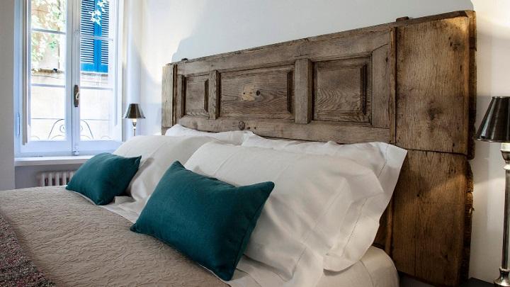 Cabeceros realizados con puertas y ventanas - Cabeceros de cama antiguos ...