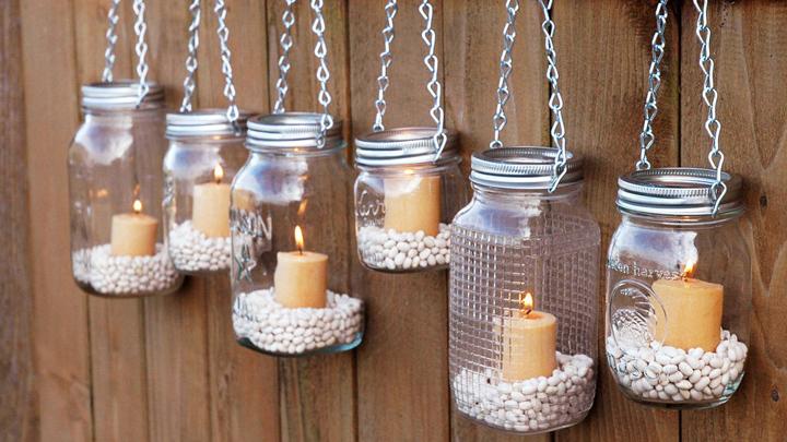 decorar la casa con velas