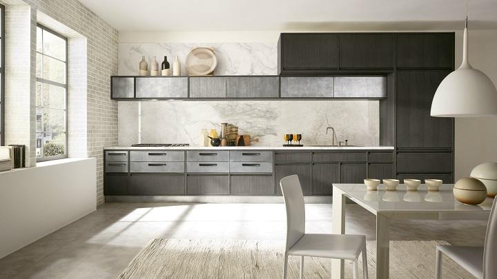 Dise os de cocinas modernas for Cocinas lineales de cuatro metros