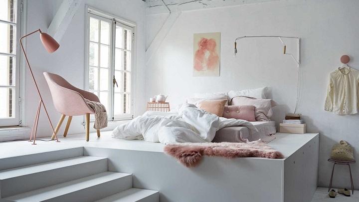 dormitorios pequenos colores