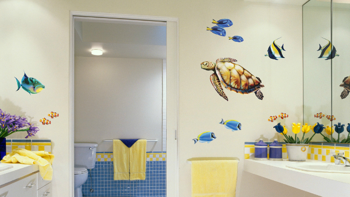 Decorablog revista de decoraci n for Ideas para decorar banos infantiles