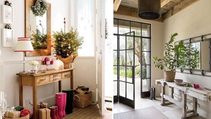 Ideas para renovar el recibidor for Espejos grandes para recibidor