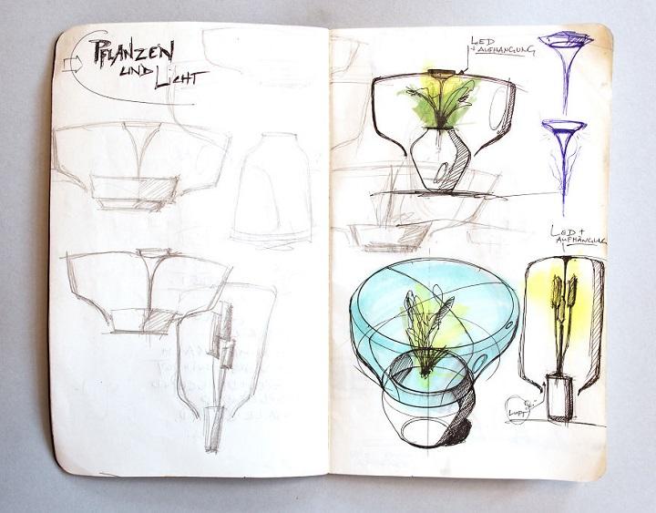lamparas cultivando plantas 4