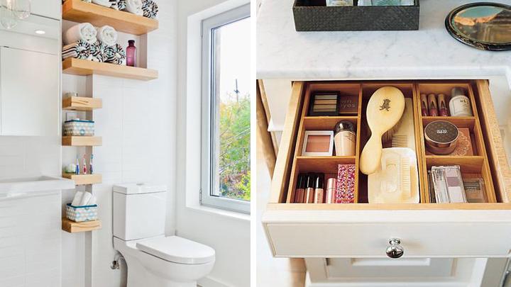Ideas Para Decorar El Cuarto De Baño:Ideas para organizar el cuarto de baño