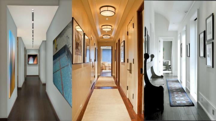 Ideas para decorar un pasillo estrecho - Decorar pasillo con fotos ...