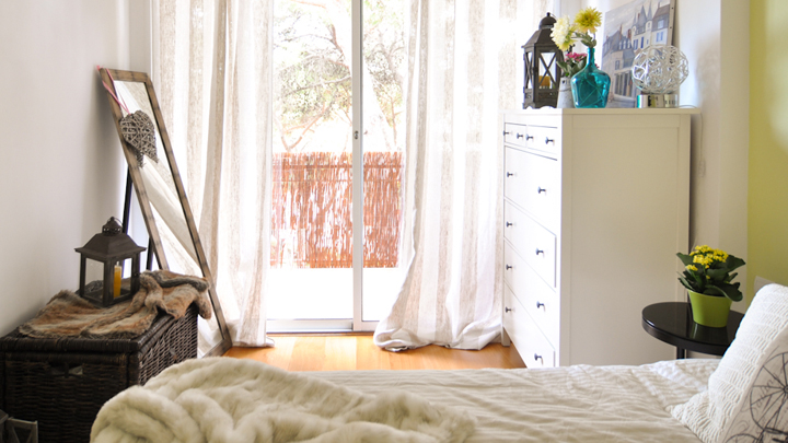 8 ideas para decorar un dormitorio peque o y acogedor for Ideas para un cuarto pequeno