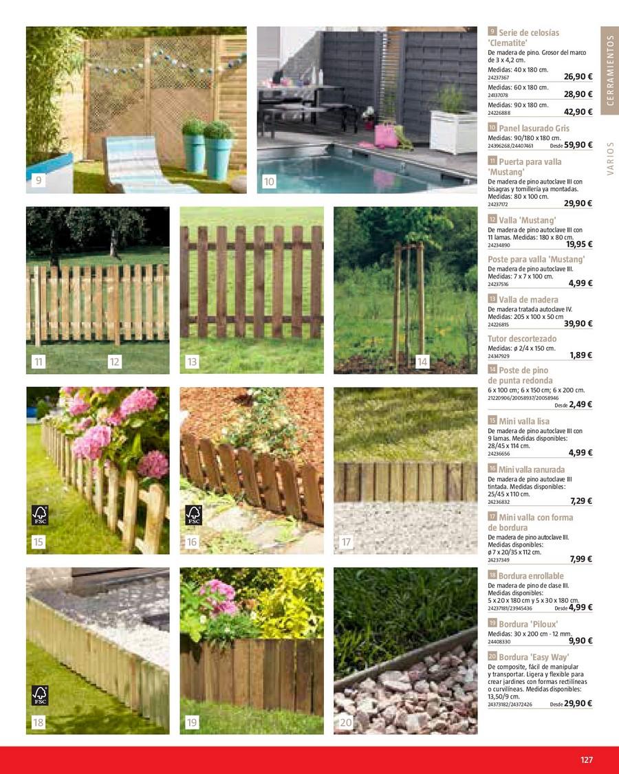 Paneles de madera para jardin vallado de madera tratada - Bauhaus casetas jardin ...