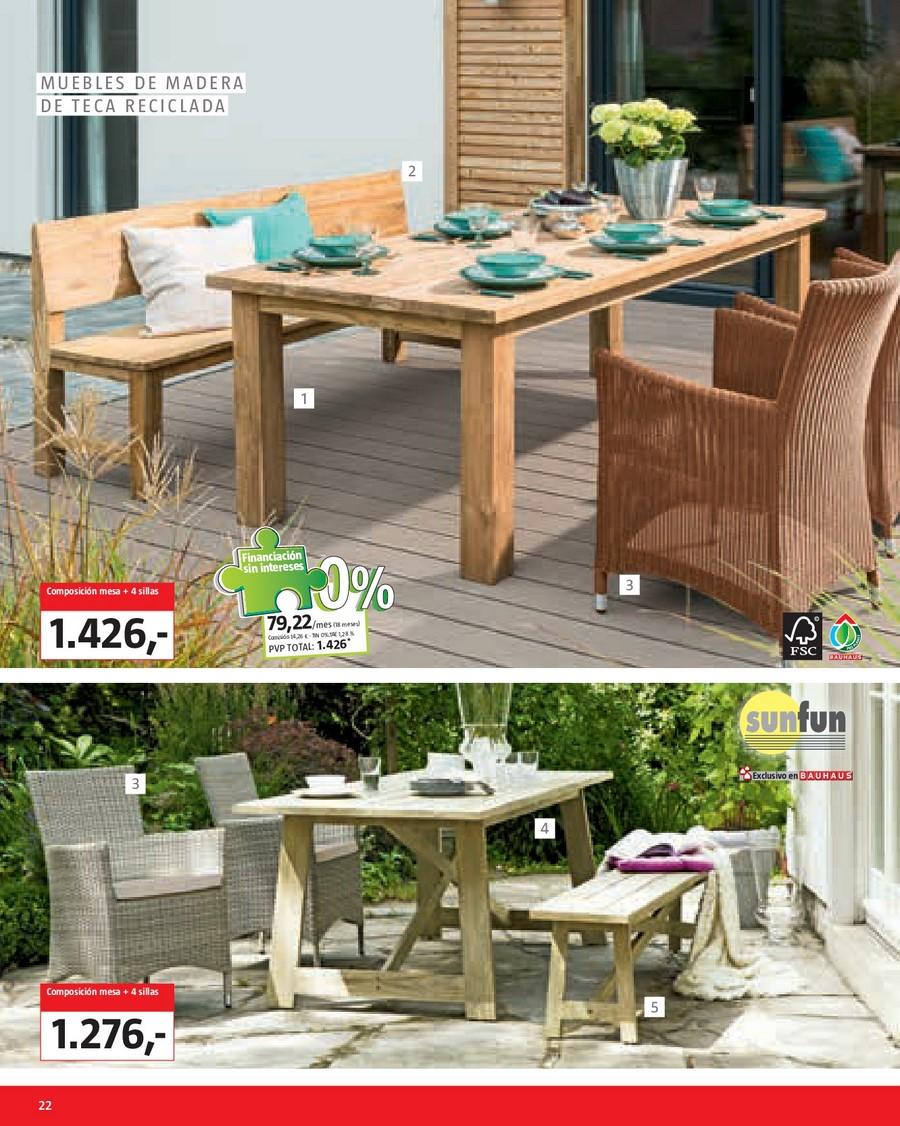 Decorablog revista de decoraci n - Muebles de jardin bauhaus ...