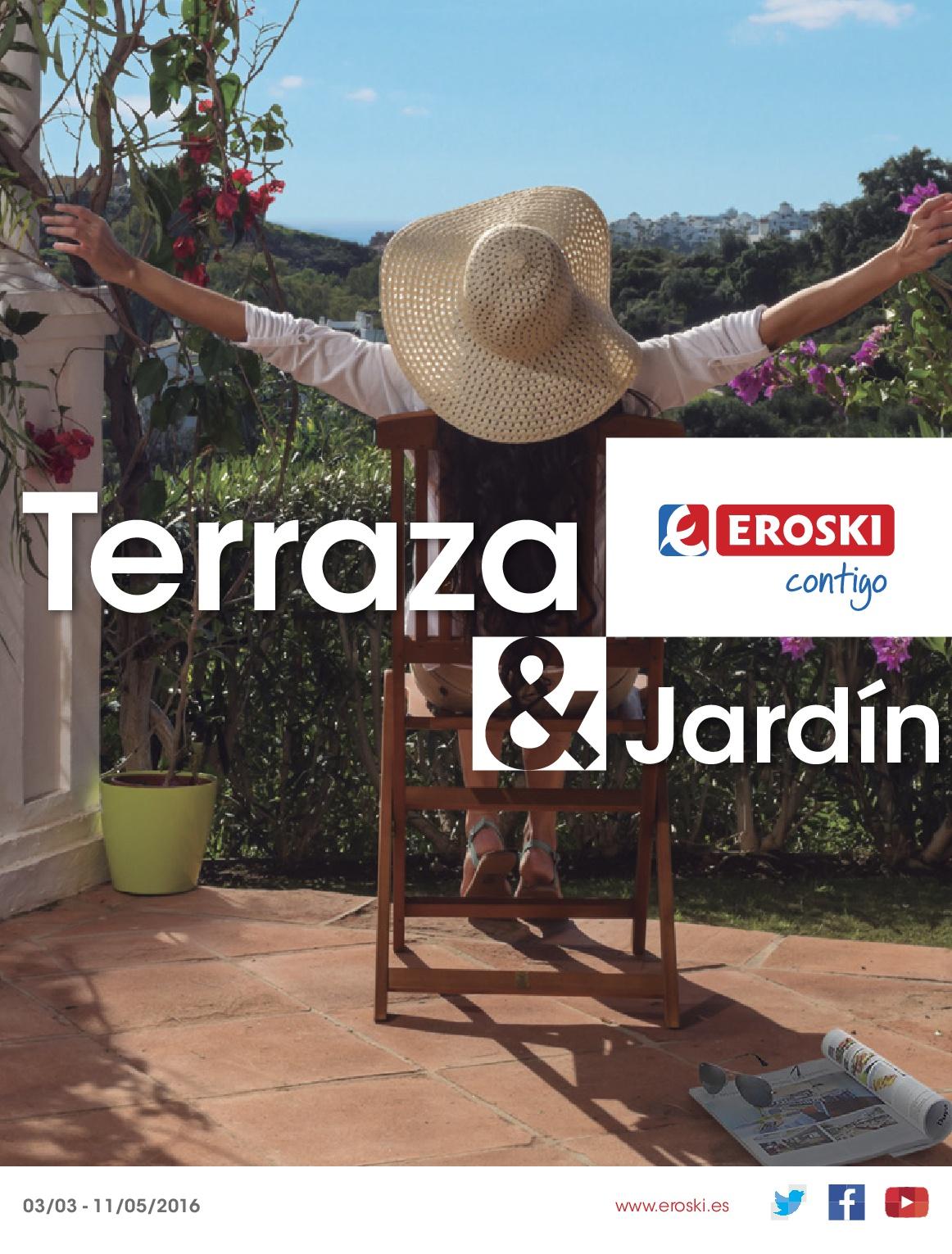 Eroski terraza jardin 20161 - Eroski iluminacion ...