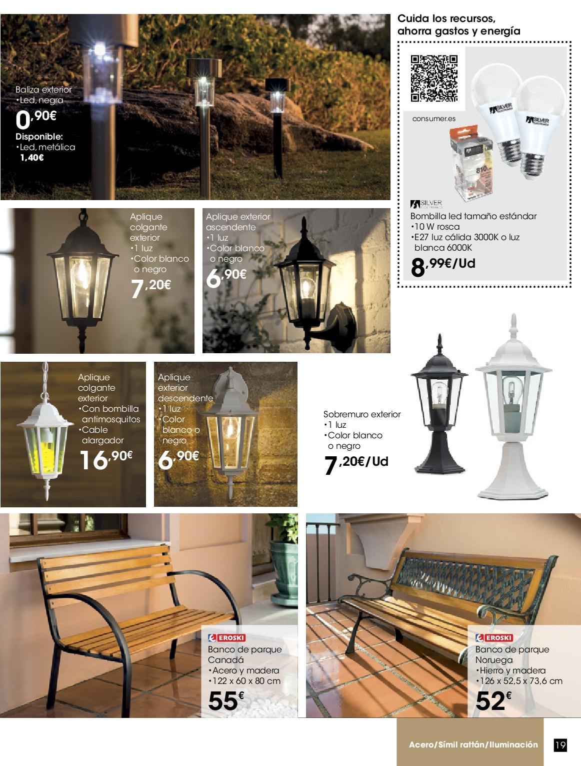 Eroski terraza jardin 201619 - Eroski iluminacion ...