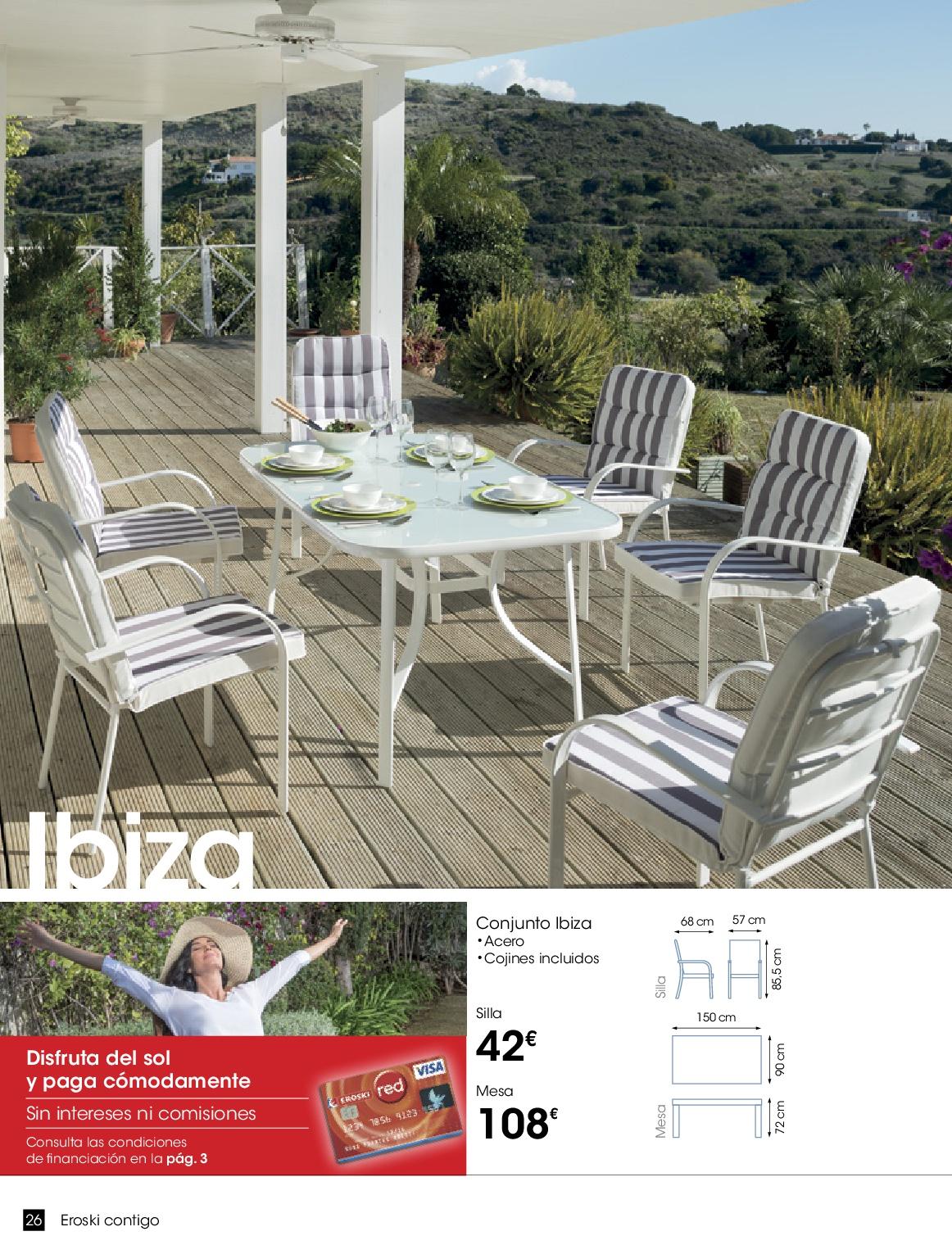 Eroski terraza jardin 201626 - Eroski iluminacion ...
