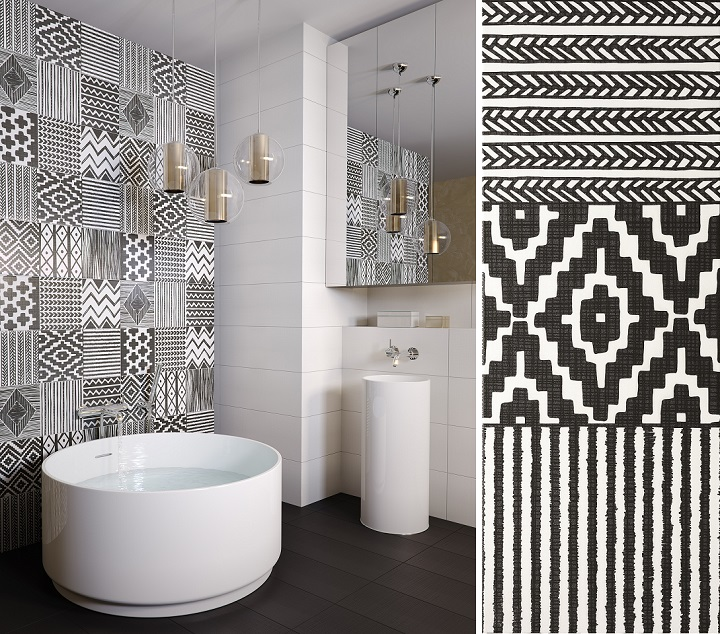 Zirconio Azulejos Baño:Idea BanoMed