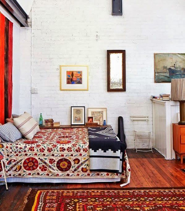 Baños Estilo Bohemio:Cómo decorar un dormitorio con estilo bohemio (13/20)