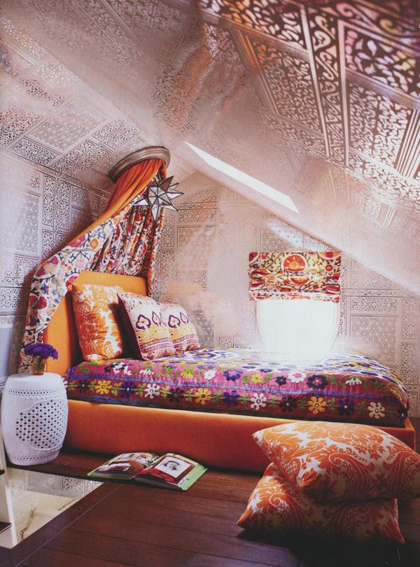 Baños Estilo Bohemio:Cómo decorar un dormitorio con estilo bohemio (2/20)